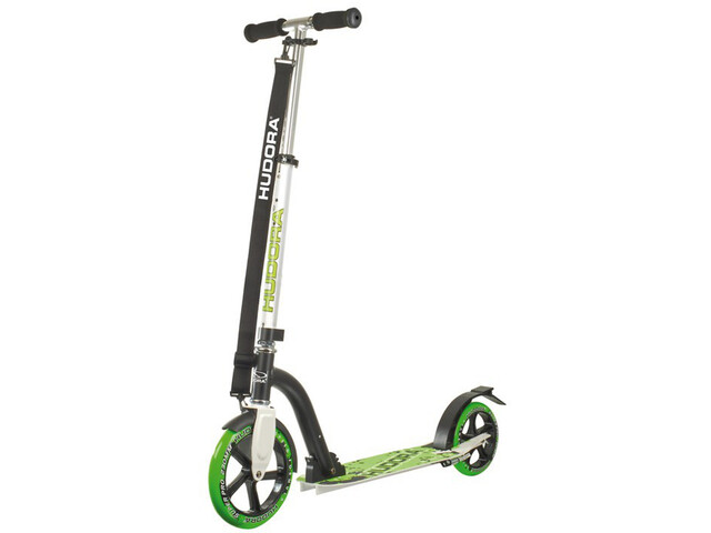 HUDORA Big Wheel Trottinette de ville Enfant, green/black